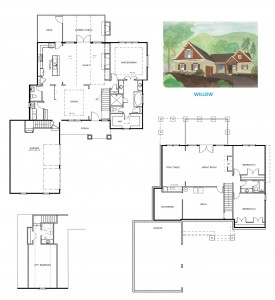 The Willow Floorplanwithelevation2
