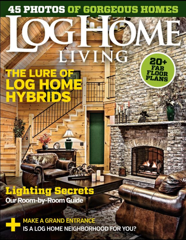 Log Home Living U2013 March 2016 COVER