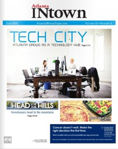 Atlanta INtown Cover - Head for the Hills JUNE 2016